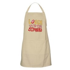 Laugh With The Sinners BBQ Apron