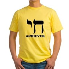 Chai Achiever Yellow T-Shirt