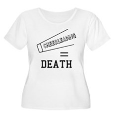 Cheerleading Equals Death Womens Plus Size Scoop