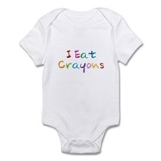 I Eat Crayons Infant Bodysuit