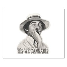 Yes We Cannabis Small Poster