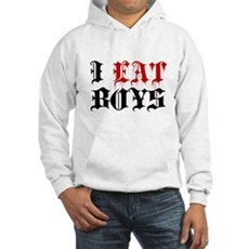 I Eat Boys Hooded Sweatshirt