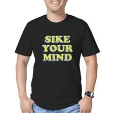 Sike Your Mind Mens Fitted Dark T-Shirt