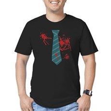Zombie Hunter Mens Fitted Dark T-Shirt