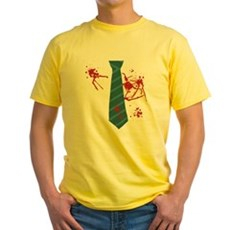 Zombie Hunter Yellow T-Shirt