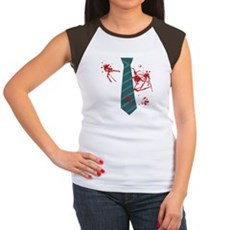 Zombie Hunter Womens Cap Sleeve T-Shirt