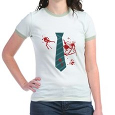 Zombie Hunter Jr Ringer T-Shirt