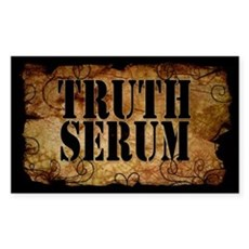 Truth Serum Bottle Label Sticker