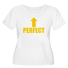 I'm Perfect Plus Size Scoop Neck Shirt