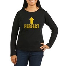 I'm Perfect Womens Long Sleeve T-Shirt