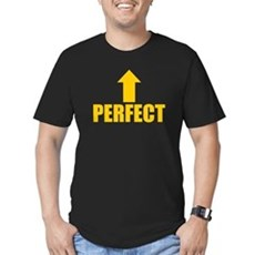 I'm Perfect Mens Fitted Dark T-Shirt