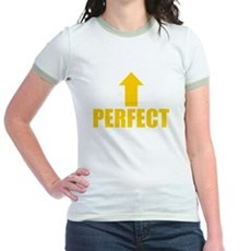 I'm Perfect Jr Ringer T-Shirt