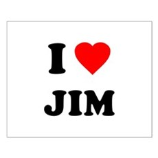 I Love Jim Small Poster