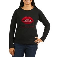 Blood Donors Needed Womens Long Sleeve Dark T-Shi