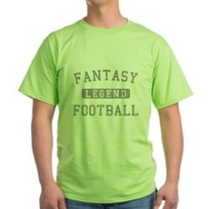Fantasy Football Legend Green T-Shirt