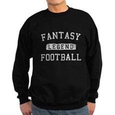 Fantasy Football Legend Dark Sweatshirt