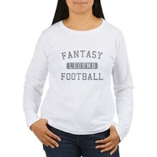 Fantasy Football Legend Womens Long Sleeve T-Shir