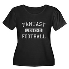 Fantasy Football Legend Womens Plus Size Scoop Ne