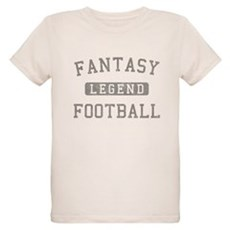 Fantasy Football Legend Organic Kids T-Shirt