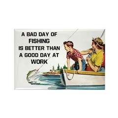 Fishing Fridge Fridge Magnet