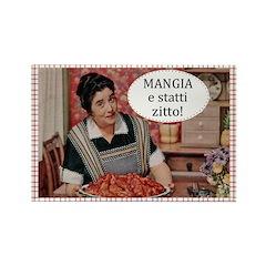 Mangia Fridge Fridge Magnet