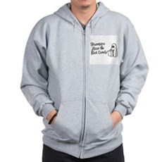 Strangers Have the Best Candy Zip Hoodie