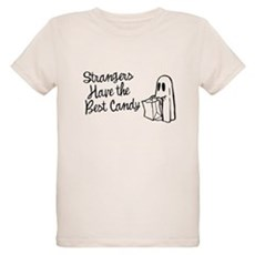 Strangers Have the Best Candy Organic Kids T-Shirt