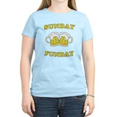 Sunday Funday Womens Light T-Shirt