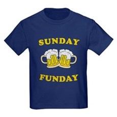 Sunday Funday Kids T-Shirt