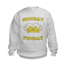 Sunday Funday Kids Sweatshirt