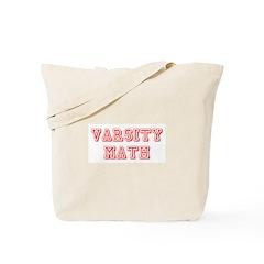 Varsity Math Tote Bag