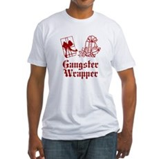 Gangster Wrapper Fitted T-Shirt