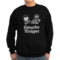Gangster Wrapper Dark Sweatshirt