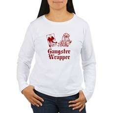 Gangster Wrapper Womens Long Sleeve T-Shirt