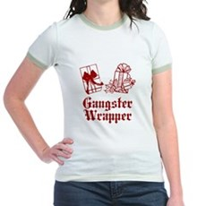 Gangster Wrapper Jr Ringer T-Shirt