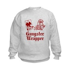 Gangster Wrapper Kids Sweatshirt