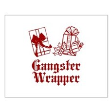 Gangster Wrapper Small Poster
