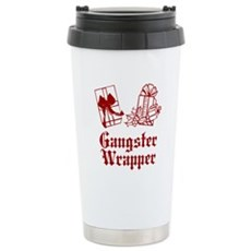 Gangster Wrapper Stainless Steel Travel Mug