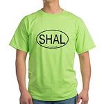 SHAL Shy Albatross Alpha Code Green T-Shirt
