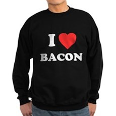 I Love Bacon Dark Sweatshirt