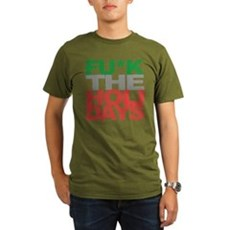 Fu*k The Holidays Organic Mens Dark T-Shirt