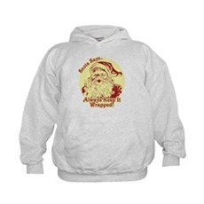 Always Keep It Wrapped Kids Hoodie