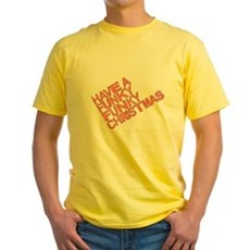 Have a Funky Funky Christmas Yellow T-Shirt