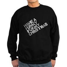 Have a Funky Funky Christmas Dark Sweatshirt