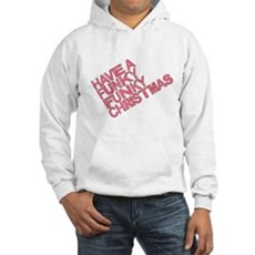 Have a Funky Funky Christmas Hooded Sweatshirt