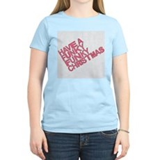 Have a Funky Funky Christmas Womens Light T-Shirt