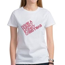 Have a Funky Funky Christmas Womens T-Shirt