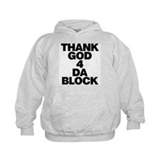 Thank God 4 Da Block Kids Hoodie