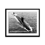 USS ALEXANDER HAMILTON Framed Panel Print