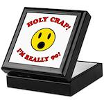 Holy Crap 90th Birthday Keepsake Box